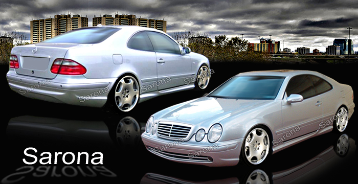Custom Mercedes Clk Coupe Amp Convertible Body Kit 1998