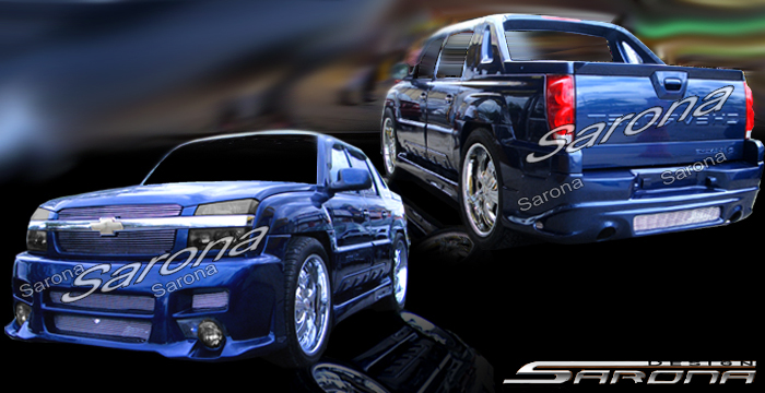 2013 Chevy Avalanche For Sale >> Custom Chevy Avalanche Truck Body Kit (2002 - 2006 ...