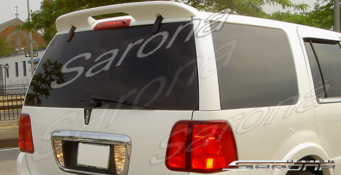 Lincoln Navigator Roof Wing Spoiler Custom Design Sport Body Kit By Sarona