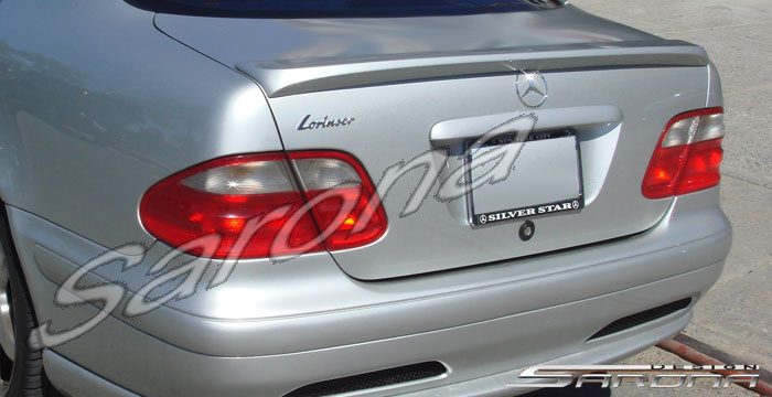 Custom Mercedes Clk Trunk Wing Sarona