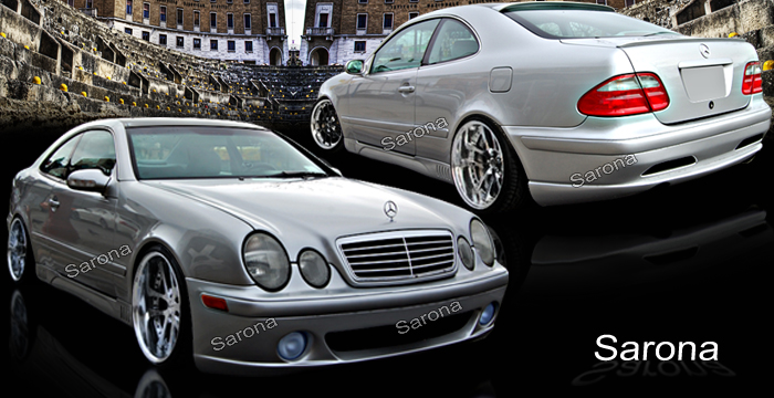 Custom Mercedes CLK Coupe & Convertible Hood (1998 - 2002 ...