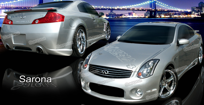 Custom Infiniti G35 Coupe Body Kit (2003 - 2007) - $1590 ...