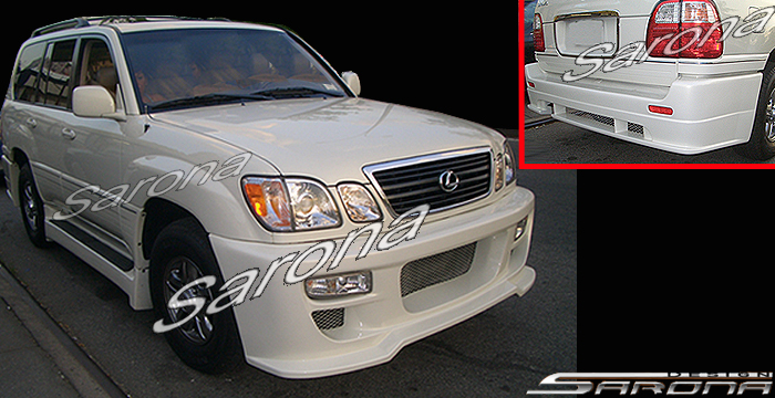 Custom lexus lx470 suvsavcrossover front bumper 1998 2002 custom lexus lx470 suvsavcrossover body kit 1998 2002 publicscrutiny Images