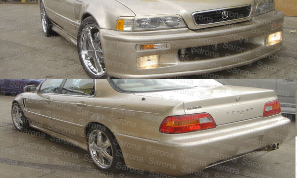 acura legend front bumper image collections