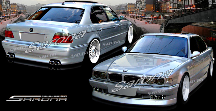 Custom BMW 7 Series Body Kit  Sedan (1995 - 2001) - $990.00 (Manufacturer Sarona, Part #BM-024-KT)