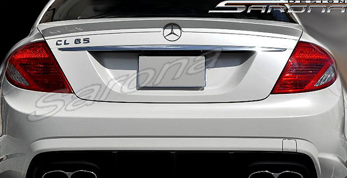 Mercedes Cl Cl Cl W Trunk Spoiler Custom Wing Style Sport Sarona Design Body Kits Left Right New