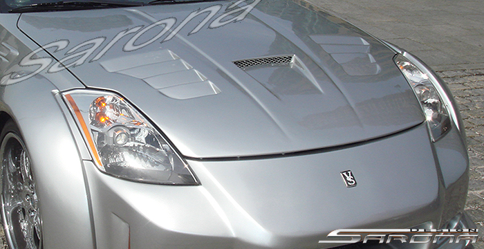 Custom Nissan 350z Hood Coupe 2003 2008 690 00
