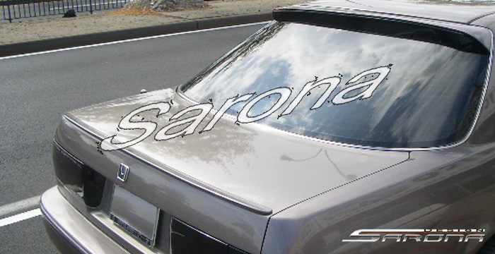 Honda Accord Lx Ex Trunk Spoiler Custom Wing Roof Body Kit Sarona Accessories Chrome Grill
