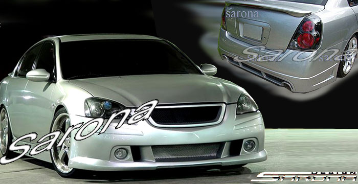 Custom Nissan Altima Trunk Wing Coupe 2008 2012 235