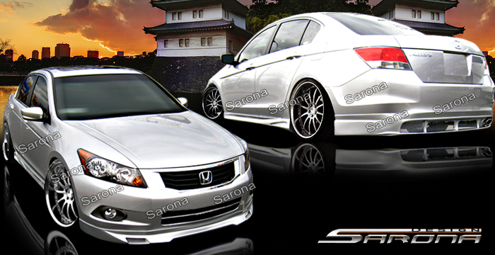 Custom Honda Accord Sedan Eyelids 2013 2015 89 00