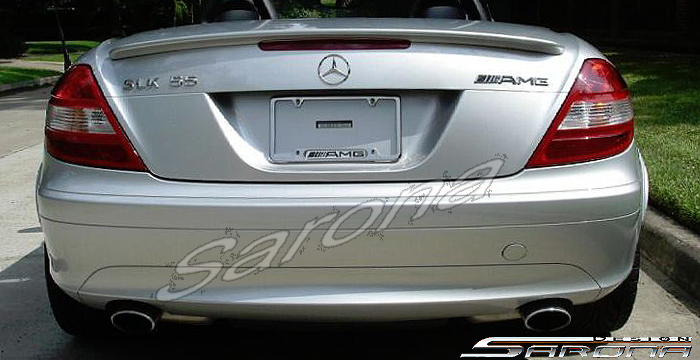 Custom Mercedes Slk Coupe Trunk Wing 2005 2008 225