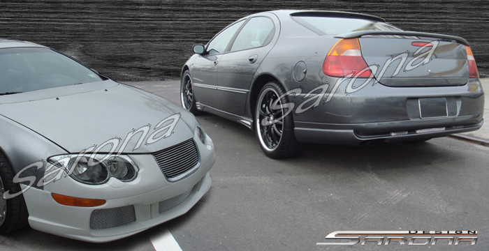 Chrysler M M Kits Lip Front Left Right Side Skirts Custom Bumper Body Kit Sarona Roof Trunk Spoiler Design New Kits Wing Accessories Lip Hood Grill Mesh