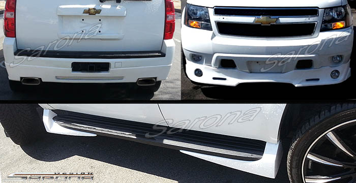 Custom Chevy Tahoe Body Kit  SUV/SAV/Crossover (2007 - 2014) - $1350.00 (Manufacturer Sarona, Part #CH-021-KT)
