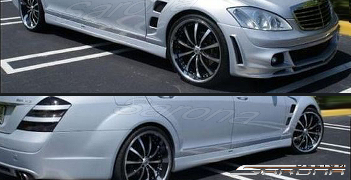 Custom mercedes s class sedan body kit 2007 2013 for Mercedes benz r350 accessories