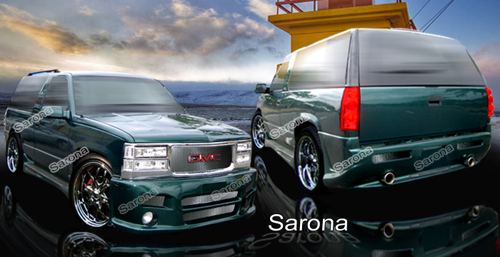 Custom Chevy Tahoe Body Kit  SUV/SAV/Crossover (1992 - 1999) - $1490.00 (Manufacturer Sarona, Part #CH-024-KT)