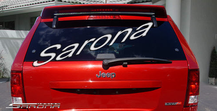 Custom Jeep Grand Cherokee Roof Wing  SUV/SAV/Crossover (2005 - 2010) - $239.00 (Manufacturer Sarona, Part #JP-001-RW)