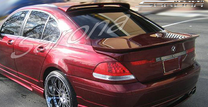Custom BMW 7 Series Roof Wing  Sedan (2002 - 2008) - $370.00 (Manufacturer Sarona, Part #BM-015-RW)