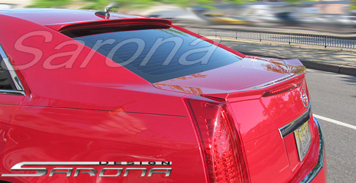 Custom Cadillac Cts Roof Wing Sedan 2008 2012 299