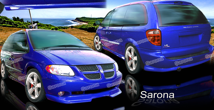 Custom Dodge Caravan Body Kit Mini Van 2001 2006