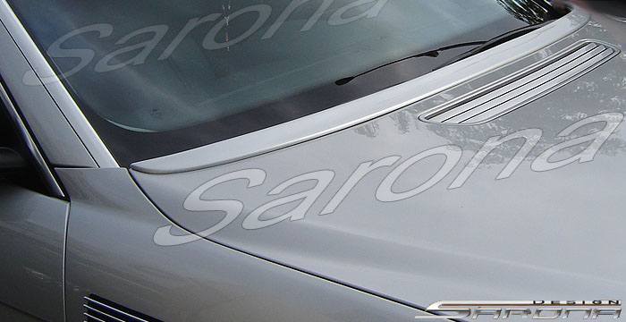 Custom BMW 7 Series Wiper Cowl  Sedan (2002 - 2008) - $349.00 (Manufacturer Sarona, Part #BM-001-WC)