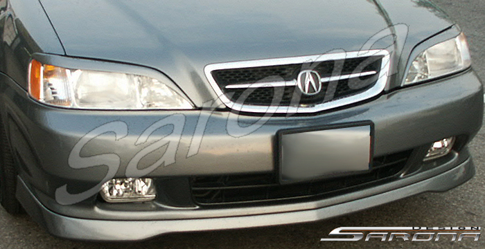 Acura Tl Front Custom Rear Bumper Side Body Kit Spoiler Roof Trunk Wing Hood Grill Led Black Mesh Sarona