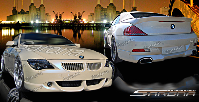 Custom Bmw 6 Series Body Kit Sarona