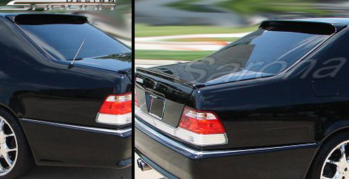 Custom Mercedes S Class Roof Wing Sedan 1992 1999