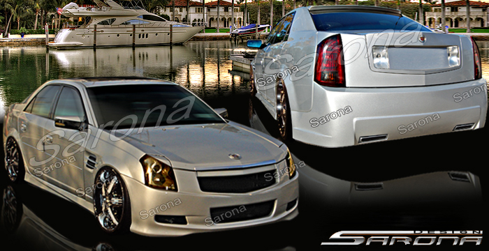 Custom Cadillac Cts Coupe Front Bumper 2008 2013