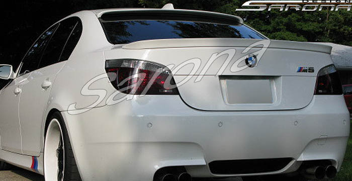 Custom Bmw 5 Series Roof Wing Sedan 2004 2010 310