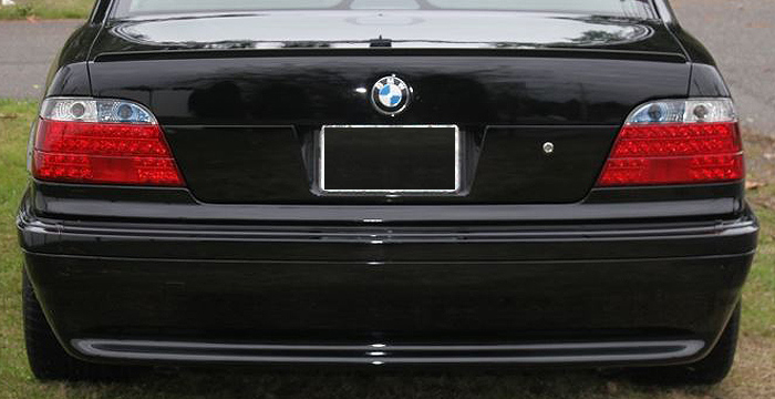 Custom BMW 7 Series Trunk Wing  Sedan (1995 - 2001) - $139.00 (Manufacturer Sarona, Part #BM-055-TW)