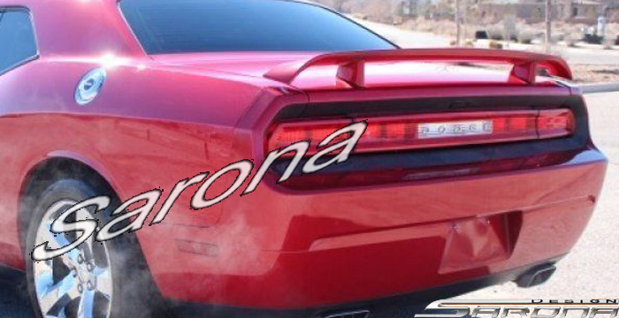 Custom Dodge Challenger Trunk Wing Coupe 2008 2016