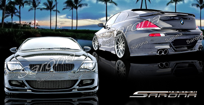 Custom Bmw 6 Series Body Kit Coupe Amp Convertible 2004