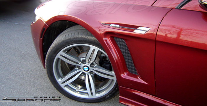 Custom BMW 6 Series Fenders  Coupe & Convertible (2004 - 2010) - $890.00 (Manufacturer Sarona, Part #BM-008-FD)