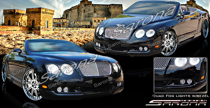 Custom Bentley GT  Coupe Body Kit (2004 - 2009) - $2290.00 (Manufacturer Sarona, Part #BT-002-KT)