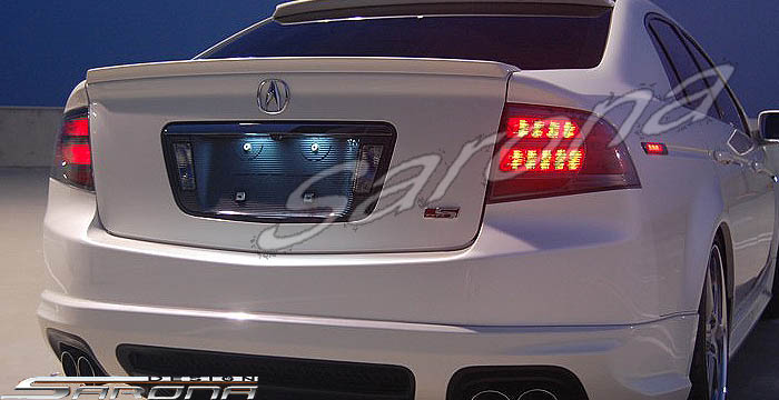 Custom Acura Tl Trunk Wing Sedan 2004 2008 299 00