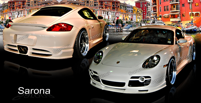 Porsche Cayenne Gts For Sale >> Custom Porsche Cayman Coupe Body Kit (2006 - 2008) - $1190 ...