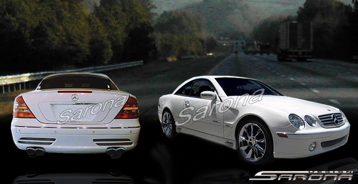 Custom Mercedes Cl Coupe Body Kit 2003 2006 1690 00
