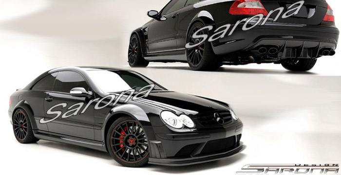 Custom Mercedes Clk Coupe Body Kit 2003 2009 6900 00 Manufacturer Sarona Part Mb 063 Kt