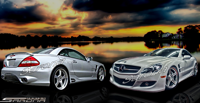 Custom Mercedes SL  Convertible Body Kit (2009 - 2012) - $3900.00 (Manufacturer Sarona, Part #MB-065-KT)