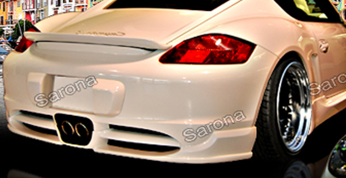 Custom Porsche Cayman Trunk Wing Coupe 2006 2013