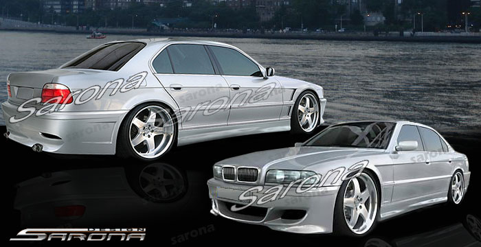 Custom BMW 7 Series Body Kit  Sedan (1995 - 2001) - $1450.00 (Manufacturer Sarona, Part #BM-047-KT)