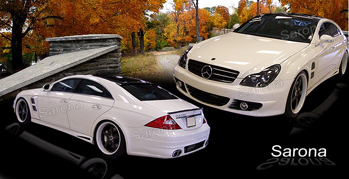 custom mercedes cls body kit sedan 2005 2011 2290. Black Bedroom Furniture Sets. Home Design Ideas