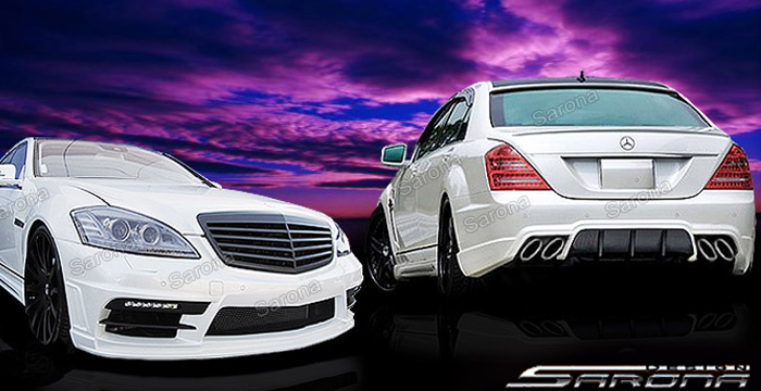Custom mercedes s class sedan body kit 2007 2013 for Mercedes benz aftermarket accessories