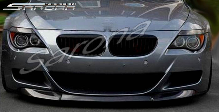 Custom Bmw 6 Series Front Bumper Add On Coupe