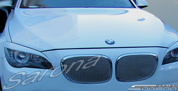 Custom BMW 7 Series Eyelids  Sedan (2009 - 2015) - $190.00 (Manufacturer Sarona, Part #BM-018-EL)