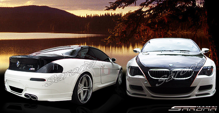 Custom BMW 6 Series Body Kit  Coupe & Convertible (2004 - 2010) - $1180.00 (Manufacturer Sarona, Part #BM-051-KT)