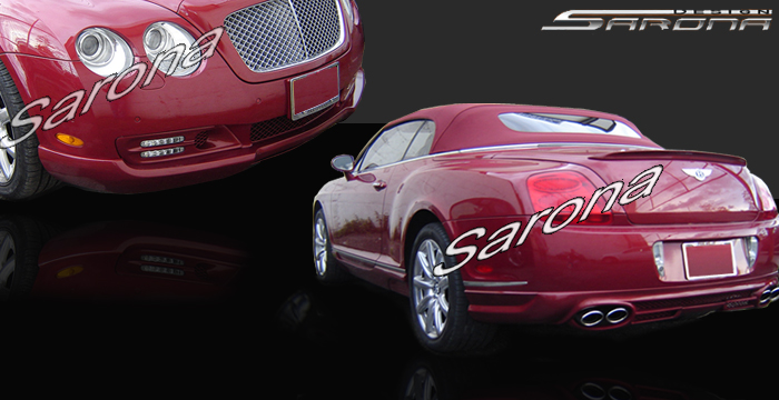 Custom Bentley GTC Body Kit  Coupe (2003 - 2009) - $2290.00 (Manufacturer Sarona, Part #BT-006-KT)