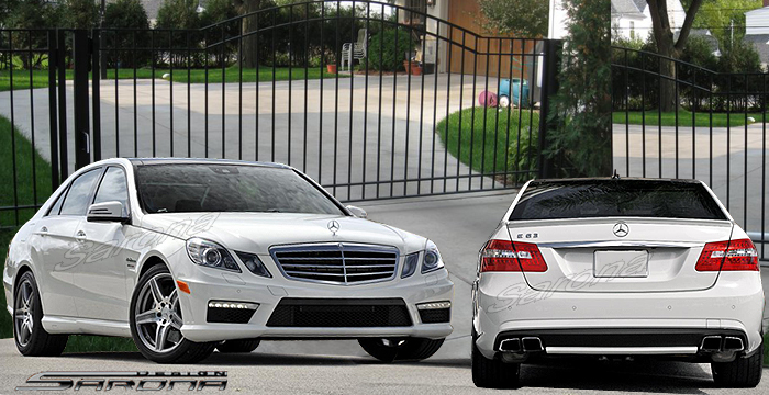 Custom Mercedes E Class Body Kit  Sedan (2010 - 2013) - $1950.00 (Manufacturer Sarona, Part #MB-091-KT)