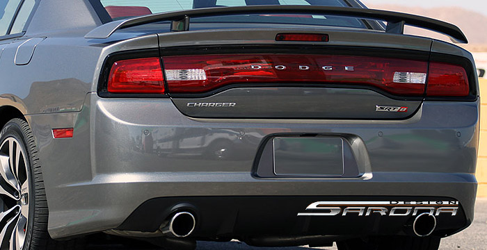 Custom Dodge Charger Trunk Wing Sarona
