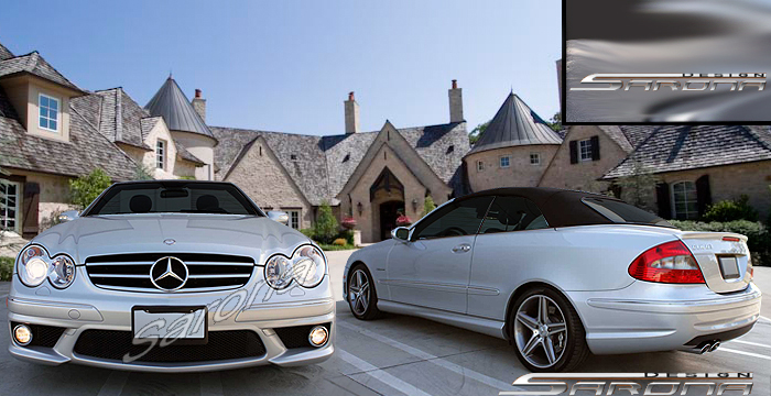 Custom Mercedes Clk Coupe Amp Convertible Body Kit 2003